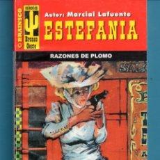 Libros: NOVELA DE ESTEFANÍA EDICIÓN BRAINSCO BRONCO OESTE TÍTULO RAZONES DE PLOMO Nº 355 BO UNA ESTRELLA. Lote 176640698