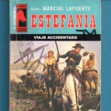 Livros: NOVELA DE ESTEFANÍA EDICIÓN INTERPRESS JINETE TÍTULO VIAJE ACCIDENTADO Nº 405 J UNA ESTRELLA. Lote 176642508