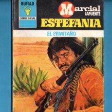 Livros: NOVELA DE ESTEFANÍA EDICIÓN BUFALO SERIE AZUL TÍTULO EL ERMITAÑO Nº 467. Lote 176642879