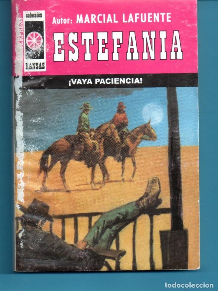 NOVELA DE ESTEFANÍA EDICIÓN INTERPRESS KANSAS TITULA VAYA PACIENCIA Nº431 K UNA ESTRELLA (Libros Nuevos - Literatura - Narrativa - Aventuras)
