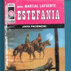 Libros: NOVELA DE ESTEFANÍA EDICIÓN INTERPRESS KANSAS TITULA VAYA PACIENCIA Nº431 K UNA ESTRELLA. Lote 176643082