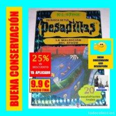 Libros: EN BUSCA DE TUS PESADILLAS - LA MALDICIÓN DEL ATAÚD - R.L. STINE - BUEN ESTADO - 9.90 EUROS. Lote 176868307