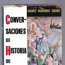 Libros: CONVERSACIONES DE HISTORIA DE ESPAÑA. TOMO III. Lote 167891125