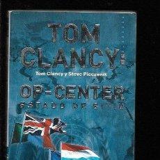 Libros: TOM CLANCY: OP-CENTER. ESTADO DE SITIO. Lote 144919697