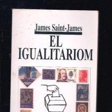 Libri di seconda mano: IGUALITARIOM - EL. Lote 131309955
