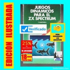 Libros: JUEGOS DINÁMICOS PARA EL ZX SPECTRUM - T. HARTNELL - GUSTAVO GILI - PROGRAMACIÓN - REVISADO - 18 €. Lote 176978665