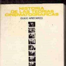 Libros: HISTORIA DE LAS TEORÍAS CIONEMATOGRÁFICAS. Lote 79393738