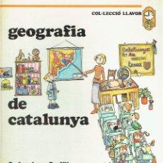 Libros: GEOGRAFIA DE CATALUNYA.. - JOSEP MARIA PANAREDA (TEXTO) Y PILARÍN BAYÉS (ILUSTRACIONES)... Lote 177146954