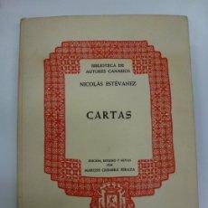 Libros: BIBLIOTECA DE AUTORES CANARIOS. NICOLÁS ESTÉVANEZ. CARTAS. EDICIÓN MARCOS GUIMERÁ. 1975.. Lote 177247419