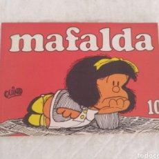 Libros: MAFALDA 10. TIRAS DE QUINO. LIBRO. Lote 177271500
