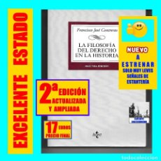 Libros: LA FILOSOFÍA DEL DERECHO EN LA HISTORIA - FRANCISCO JOSÉ CONTRERAS - SEGUNDA EDICIÓN AMPLIADA. Lote 177288369