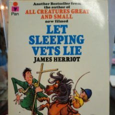 Libros: LET SLEEPING VETS LIE - HERRIOT, JAMES. Lote 163373542