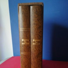 Libros: POEMA DE MÍO CID EDICIÓN MC ANIVERSARIO DE LA CIUDAD DE BURGOS 2 VOLÚMENES FACSÍMIL + ESTUDIOS. Lote 177656557