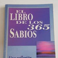 Libros: EL LIBRO DE LOS 365 SABIOS - TDK100. Lote 177748422