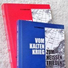 Libros: VOM KALTEN KRIEG ZUM HEISSEN FRIEDEN. VIER JAHRZEHNTE ERLEBTE ZEITGESCHICHTE EINES SCHWEIZER JOURNAL. Lote 157152782