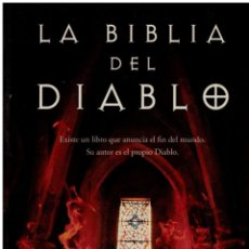 Libros: LA BIBLIA DEL DIABLO - RICHARD DÜBELL. Lote 177991234