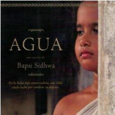 Libros: AGUA (WATER, SPANISH EDITION, ESPAÑOL-CASTELLANO) - BAPSI SIDHWA. Lote 177994877