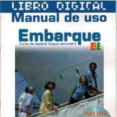 Libros: EMBARQUE 1. LIBRO DIGITAL + MANUAL DE USO. LIBRO DEL PROFESOR - VV.AA.. Lote 177998817