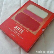 Libros: ARTE DEL SIGLO XX: PINTURA. ESCULTURA. NUEVOS MEDIOS. FOTOGRAFÍA (2 VOLÚMENES CON ESTUCHE) - RUHRBER. Lote 177999420
