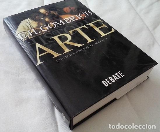LA HISTORIA DEL ARTE CONTADA POR E. H. GOMBRICH - E. H. GOMBRICH (Libros sin clasificar)