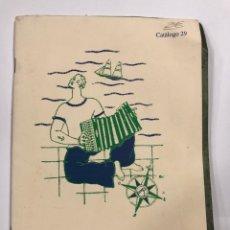 Libros: CARMICHAEL ALONSO. LIBROS. CATALOGO 29. . Lote 178007922
