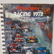 Libros: AGENDA FIRESTONE - RACING 1972 - TDK120. Lote 178152568