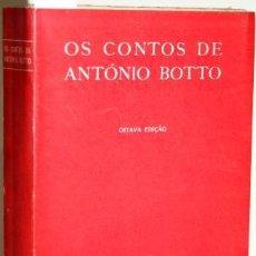 Libros: OS CONTOS DE ANTÓNIO BOTTO - BOTTO, ANTÓNIO. Lote 263632370
