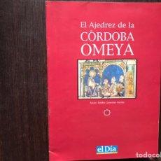 Libros: EL AJEDREZ DE LA CÓRDOBA OMEYA.. Lote 178164026