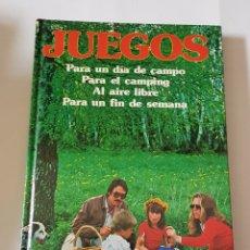 Libros: JUEGOS PARA UN DIA DE CAMPO – ANGEL FÁBREGUES MORLÁ - TDK94. Lote 178624183