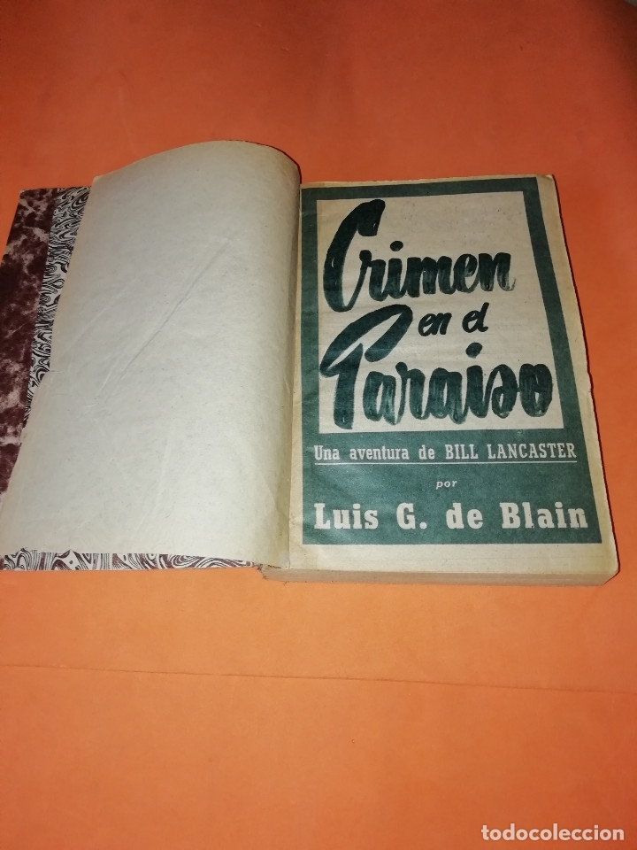 LAS AVENTURAS DE BILL LANCASTER. CUATRO AVENTURAS ENCUADERNADAS. LUIS G. DE BLAIN (Libros sin clasificar)