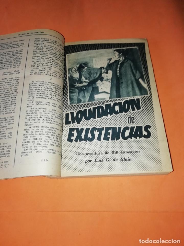 Libros: LAS AVENTURAS DE BILL LANCASTER. CUATRO AVENTURAS ENCUADERNADAS. LUIS G. DE BLAIN - Foto 2 - 178652766