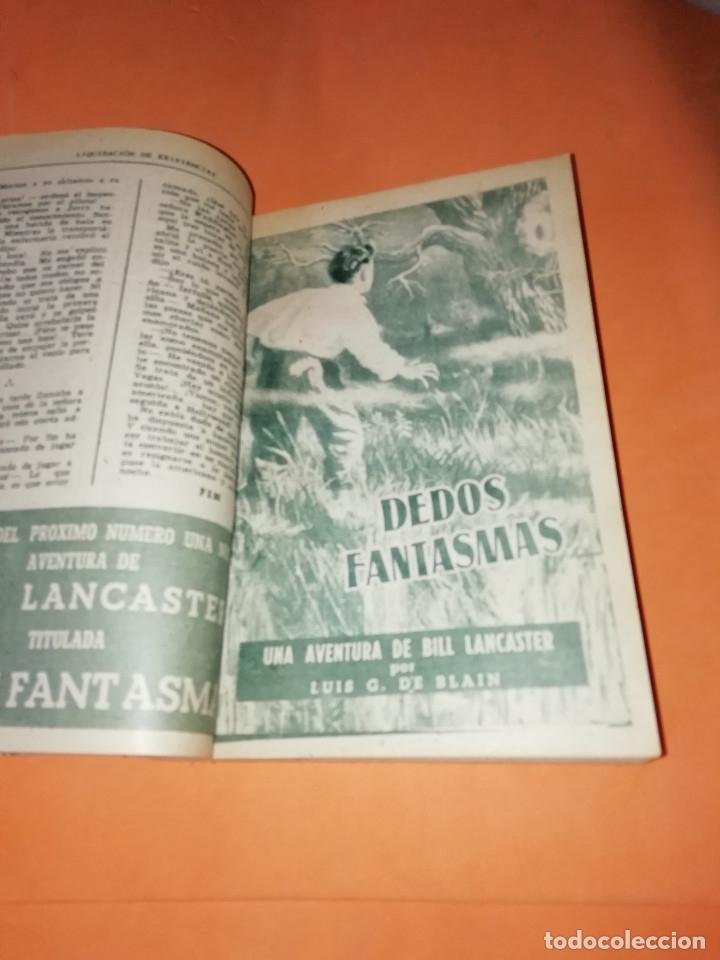 Libros: LAS AVENTURAS DE BILL LANCASTER. CUATRO AVENTURAS ENCUADERNADAS. LUIS G. DE BLAIN - Foto 3 - 178652766