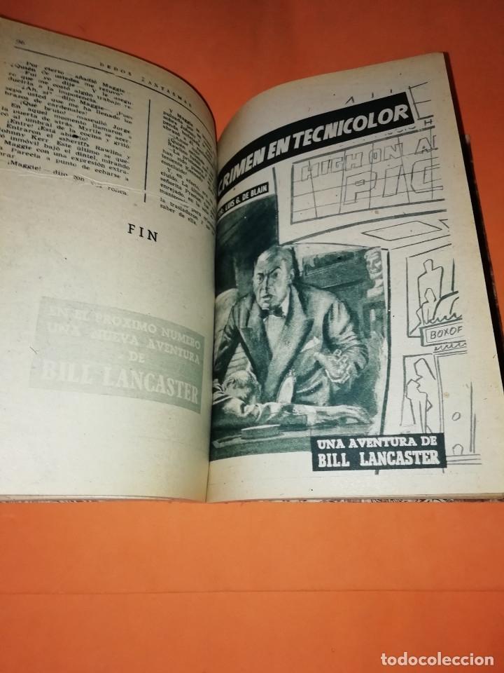 Libros: LAS AVENTURAS DE BILL LANCASTER. CUATRO AVENTURAS ENCUADERNADAS. LUIS G. DE BLAIN - Foto 4 - 178652766