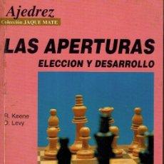 Libros: LAS APERTURAS . Lote 178845367