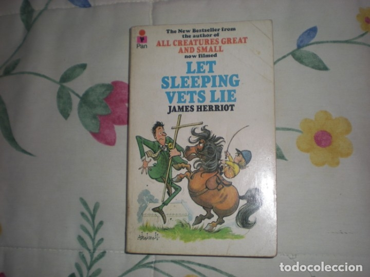 Libros: Let sleeping vet lie;James Herriot;Pan Books 1976 - Foto 1 - 178858095
