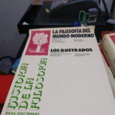 Libros: HISTORIA DE LA FILOSOFIA ESPASA CALPE FRANÇOIS CHATELET LA FILOSOFIA DEL MUNDO MODERNO ILUSTRADOS 2. Lote 178864755