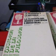 Libros: HISTORIA DE LA FILOSOFIA ESPASA CALPE FRANÇOIS CHATELET LA FILOSOFIA Y LA HISTORIA 3 . Lote 178864783