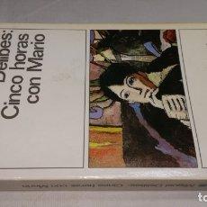 Libros: CINCO HORAS CON MARIO - MIGUEL DELIBES - 144DESTINOLIBROCAJA 155. Lote 178888112
