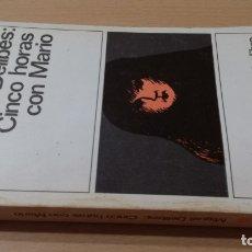 Libros: CINCO HORAS CON MARIO - MIGUEL DELIBES - 144DESTINOLIBROI-204. Lote 178888690