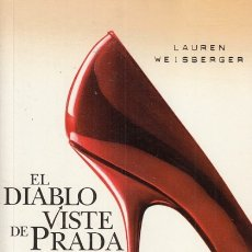 Libros: EL DIABLO VISTE DE PRADA - WEISBERGER, LAUREN. Lote 178942898