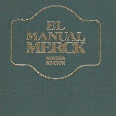 Libros: EL MANUAL MERCK DE DIAGNÓSTICO Y TERAPÉUTICA - BERKOW, ROBERT (DIRECTOR EDITORIAL). Lote 178942903