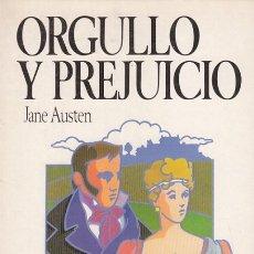 Libros: ORGULLO Y PREJUICIO - AUSTEN, JANE. Lote 178942913