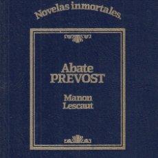 Libros: MANON LESCAUT - PREVOST, ABATE. Lote 178942918