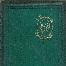 Libros: OBRAS COMPLETAS. TOMO VII - BENAVENTE, JACINTO. Lote 178942930
