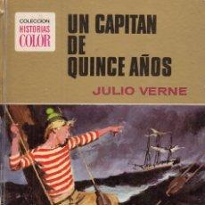 Libros: UN CAPITÁN DE QUINCE AÑOS - VERNE, JULIO. Lote 178942935