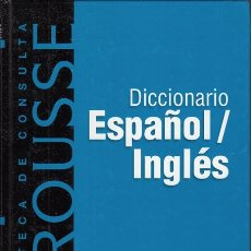 Libros: DICCIONARIO ESPAÑOL-INGLÉS. LAROUSSE - RBA, LAROUSSE. Lote 178942938