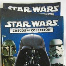 Libros: STAR WARS CASCOS DE COLECCIÓN CARPETA CON 24 FASCÍCULOS. Lote 178954451