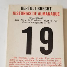 Libros: HISTORIAS DE ALMANAQUE - BERTOLT BRECHT - TDK102. Lote 178985938