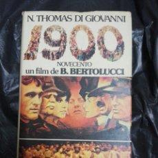 Libros: 1900 NOVELA DE THOMAS DI GIOVANNI. Lote 178962731