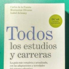 Libros: TODOS LOS ESTUDIOS Y CARRERAS. 2005.. Lote 178988087